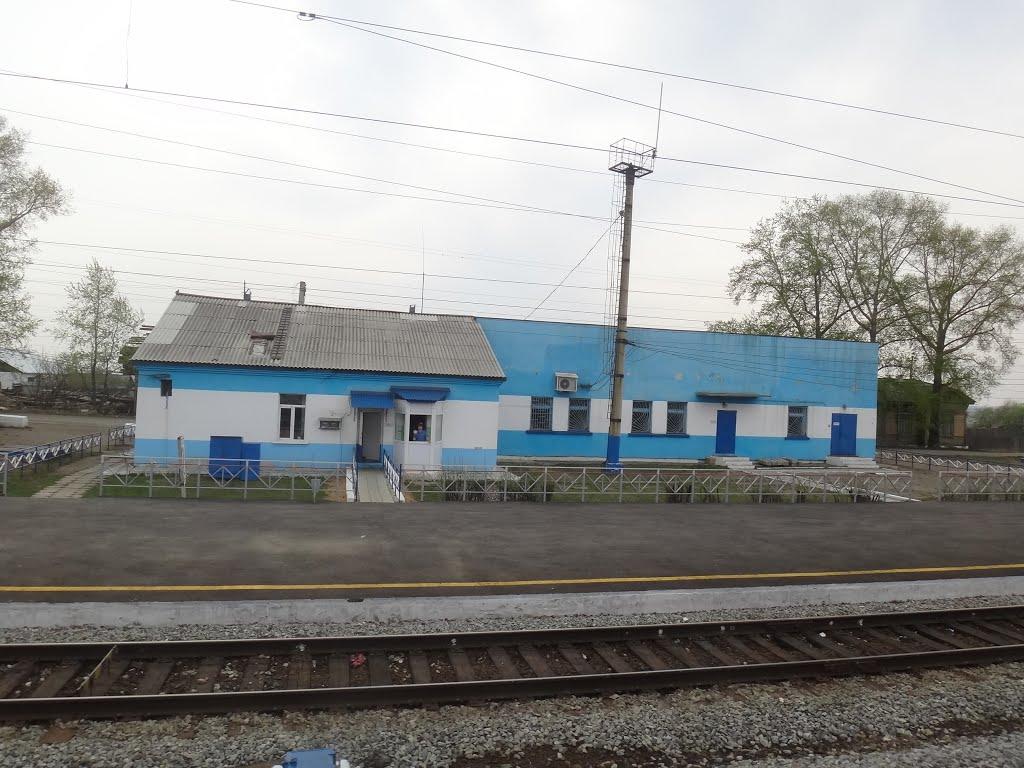 Станция Зима, Вид на восток, Куйтун