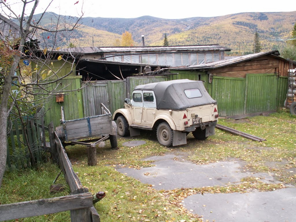 GAZ-69: 40 years old auto, Мама