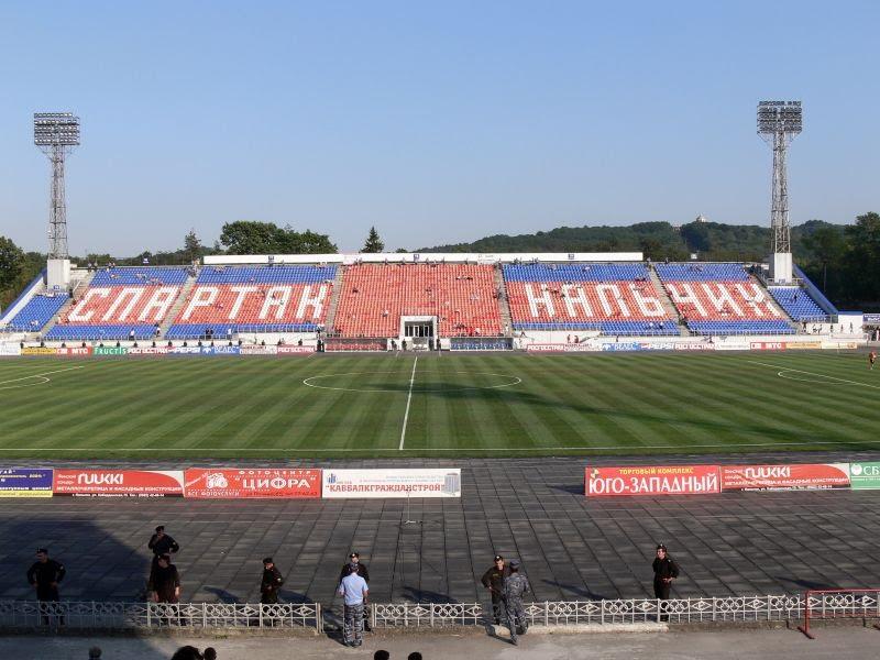 Нальчик. Республиканский стадион Спартак, Нальчик