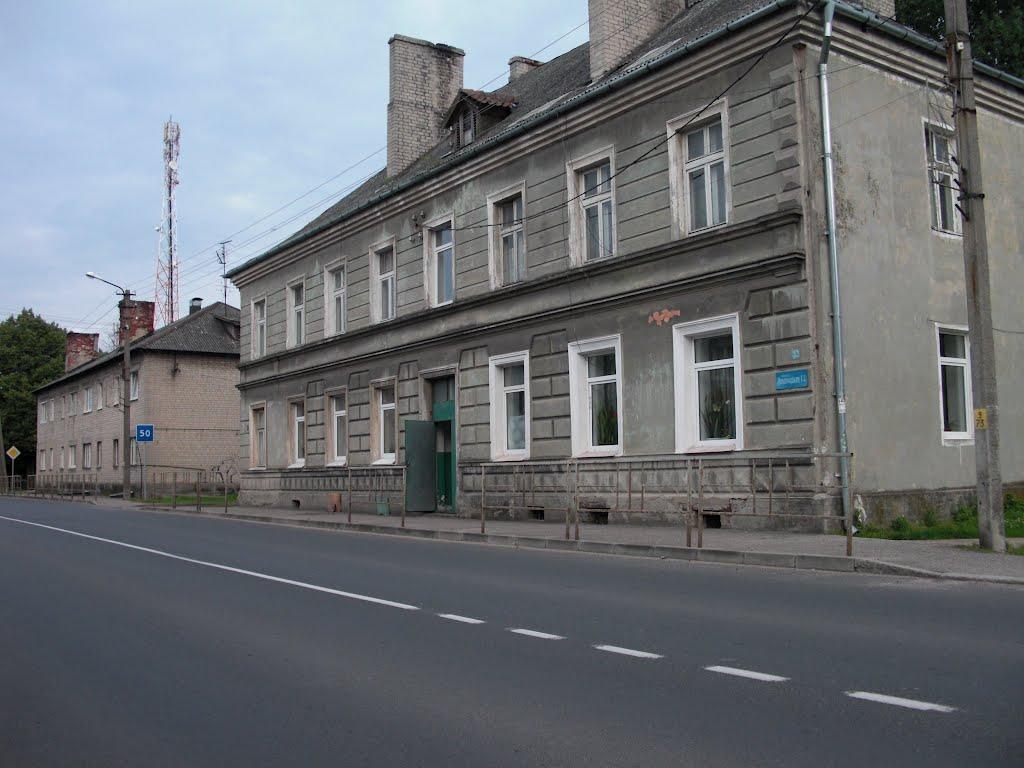 Leningradskaya street/ulica, Нестеров