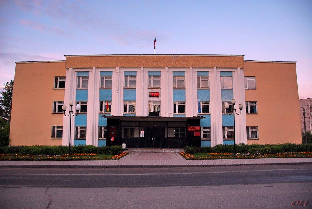 Бологое. Здание Администрации  4-59, Бологое