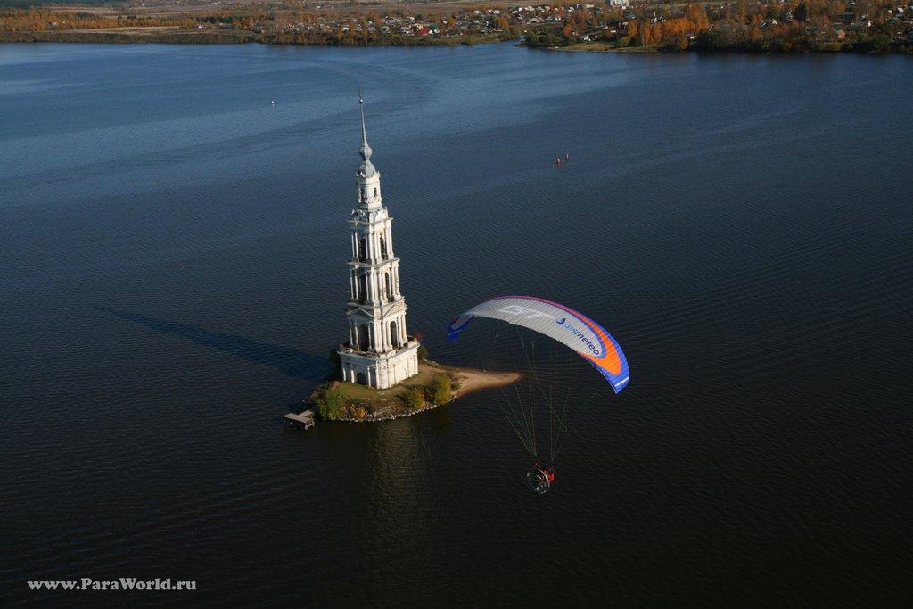 Flight near to Church at Kalyazin, Калязин