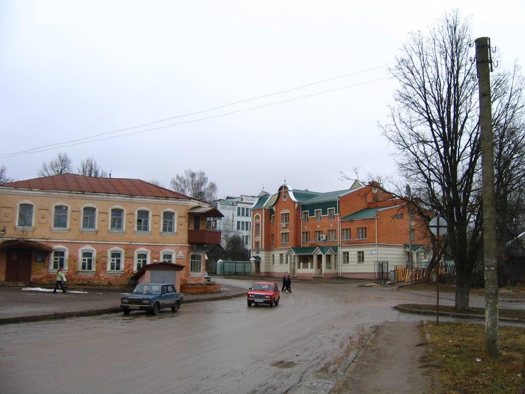 Комсомольская улица / Komsomolskaya stereet, Кондрово