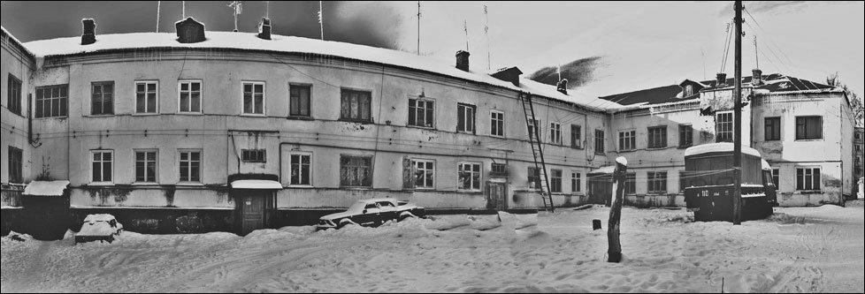 Старый дом на ул. Интернациональная, Кондрово