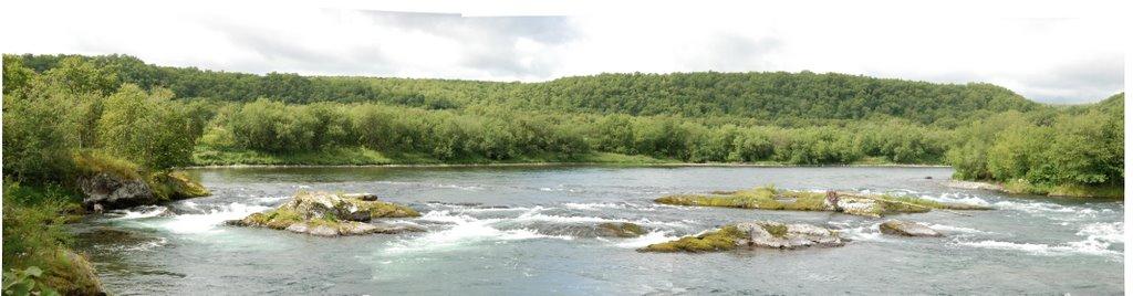пороги на реке Быстрая, Большерецк