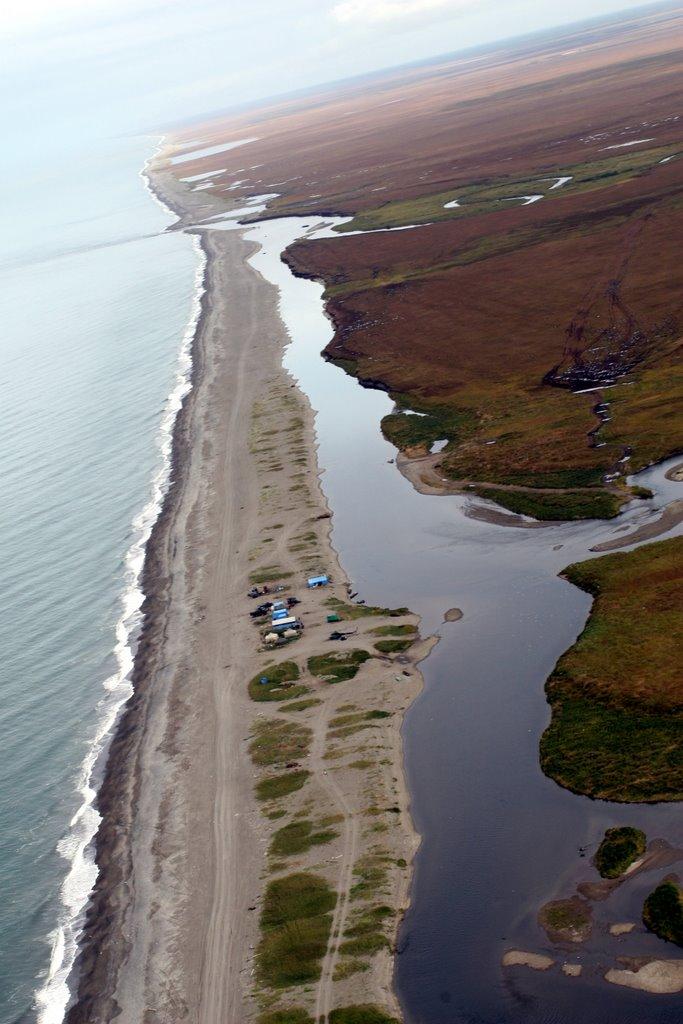 Mouth of the Kol River, Kamchatka, Russia, Кировский