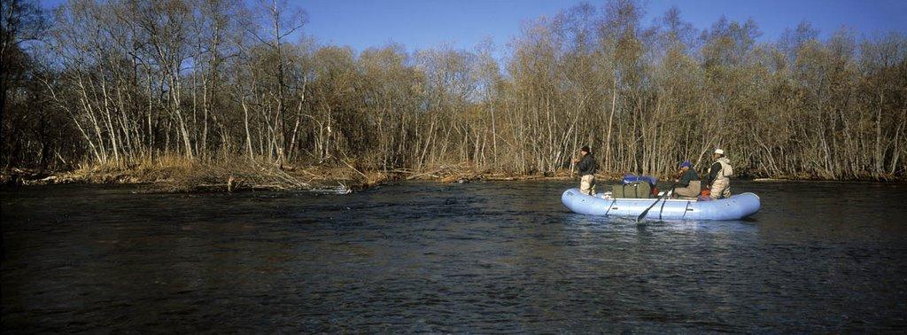 driftfishing in october, Кировский