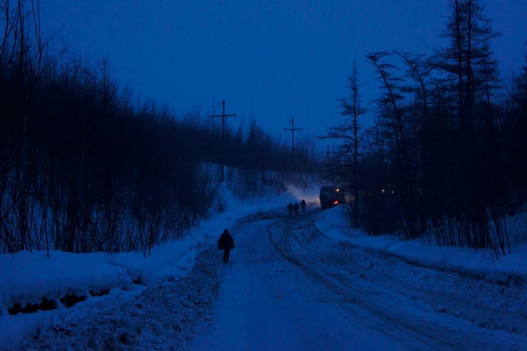 Дорога в Эссо, Крапивная
