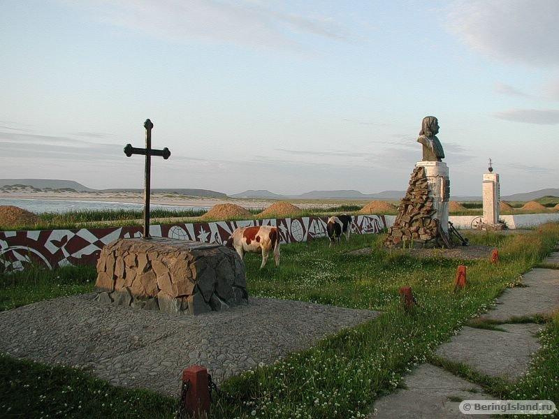памятник Витусу Берингу, Никольское