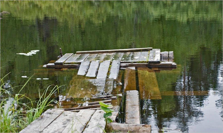 Энгозеро. Мосточки, Амбарный