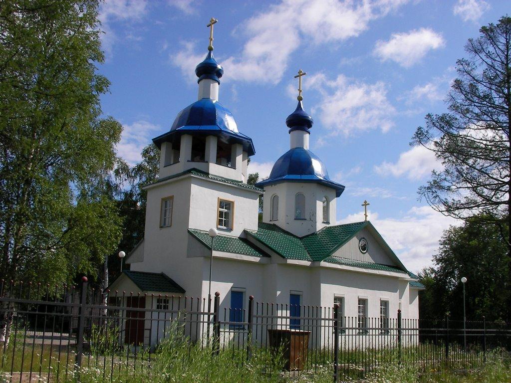 Pudozh new church, Пудож