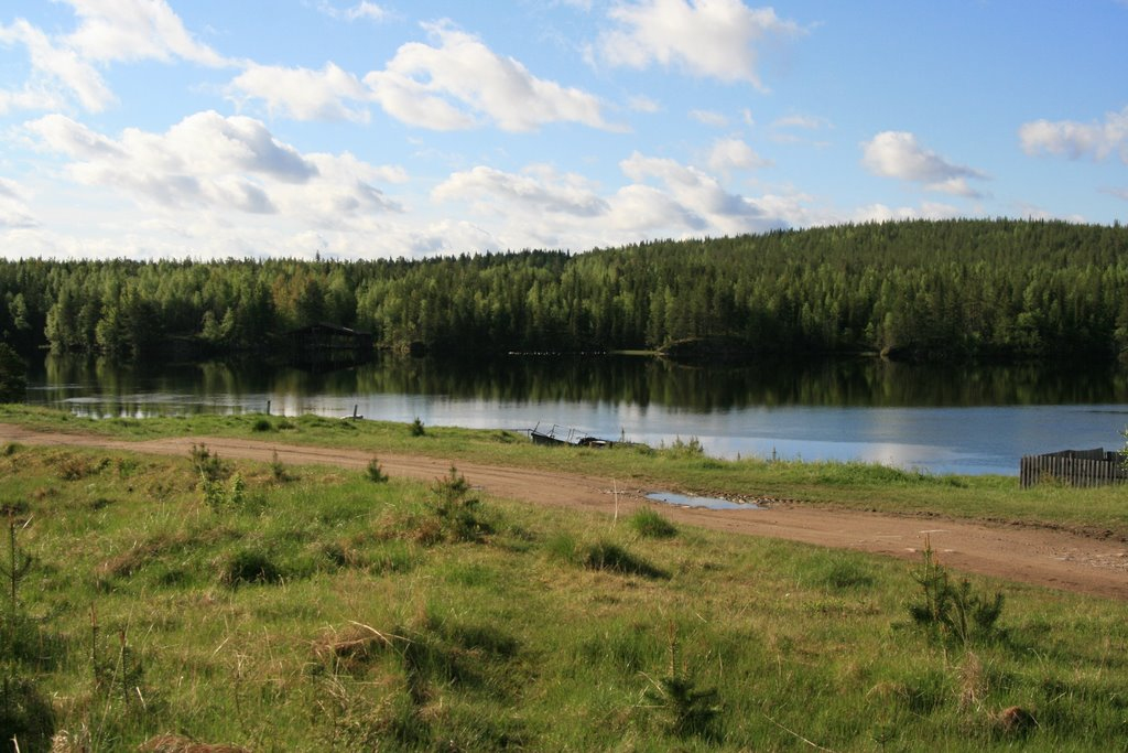 Река Софьянга в Софпороге, Софпорог