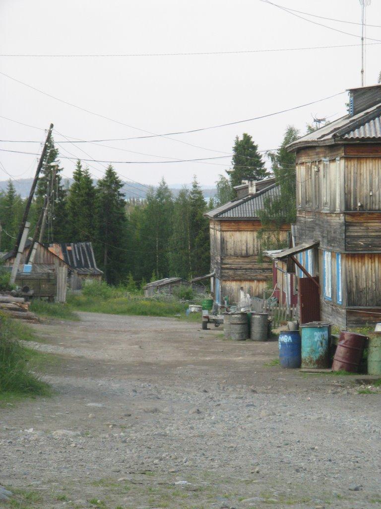 Sofporog, main street, Софпорог