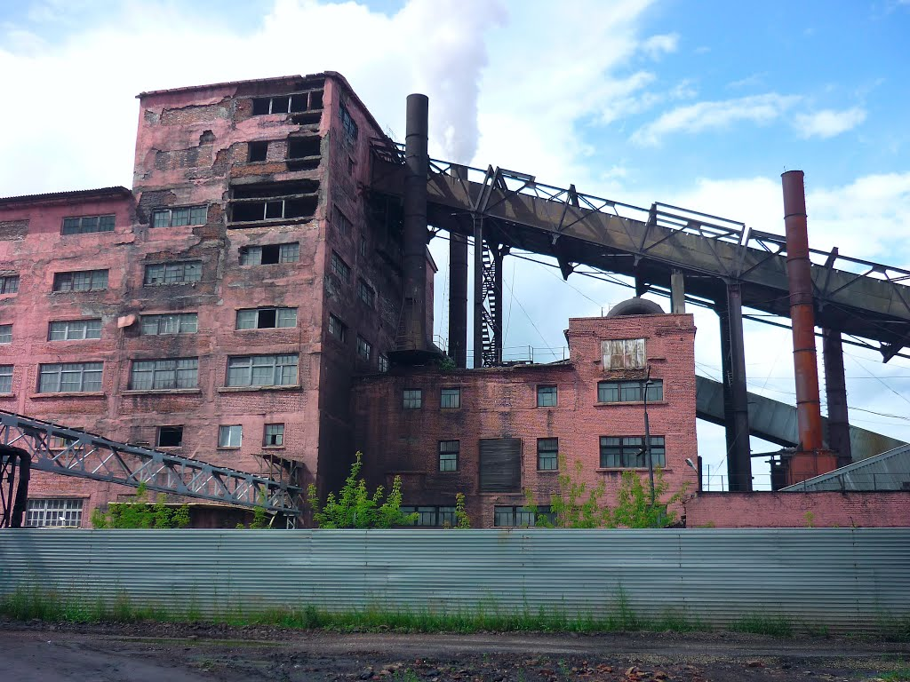 Anzhero-Sudzhensk, beneficating factory, Анжеро-Судженск