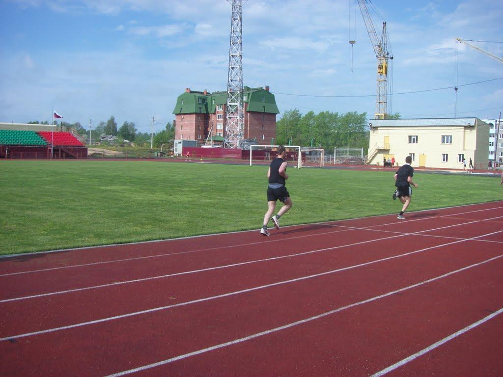 stadium of anzero-sudzensk, Анжеро-Судженск