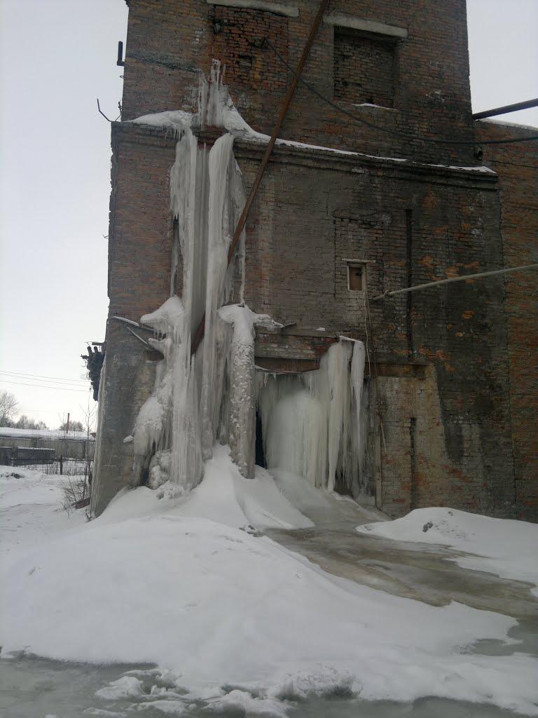 Лед, бетонный узел., Белово