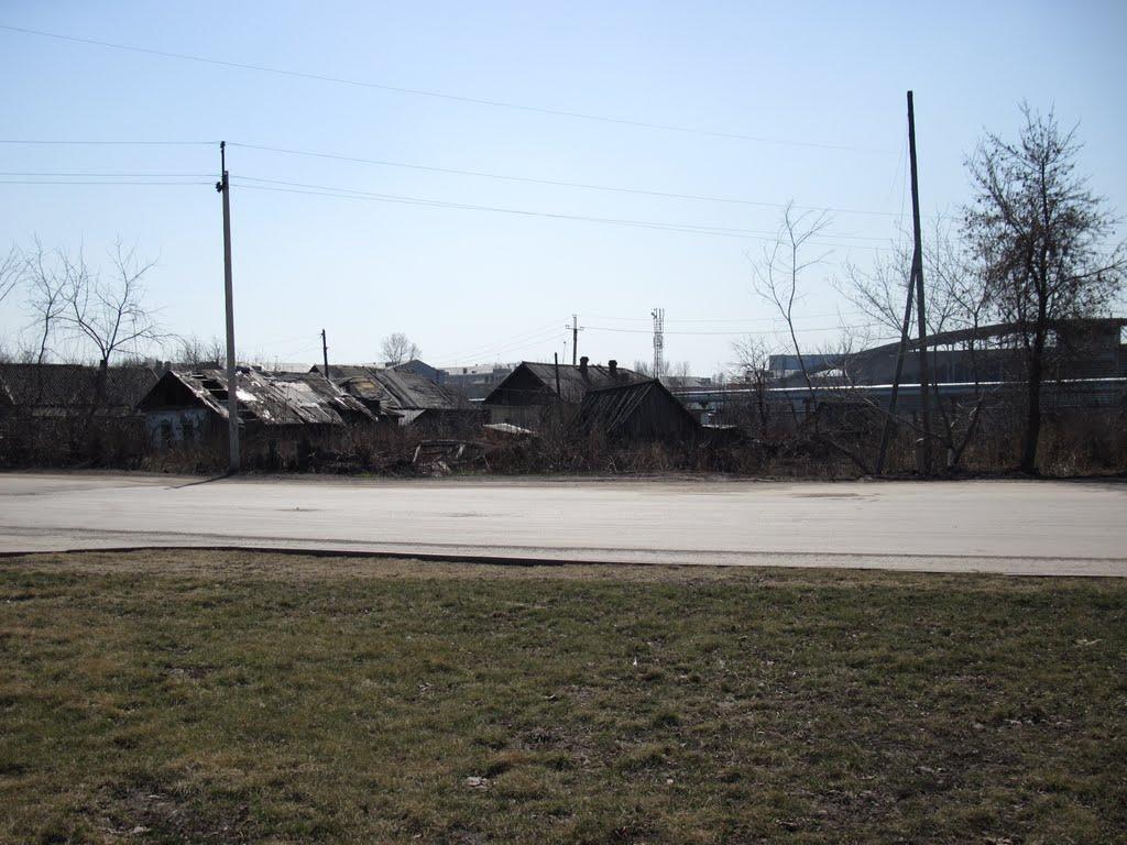 За оградой стадиона, Киселевск