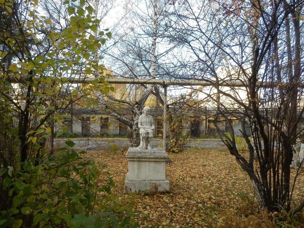 Читающая пионерка, Киселевск