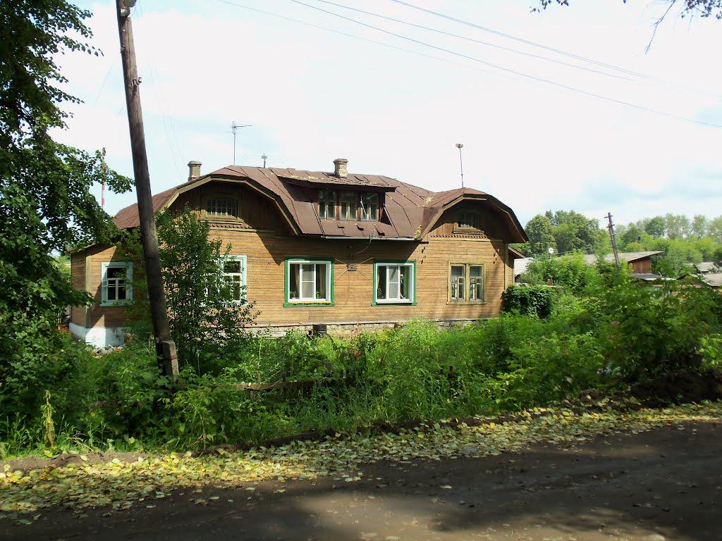 Один из домов-близнецов, Зуевка