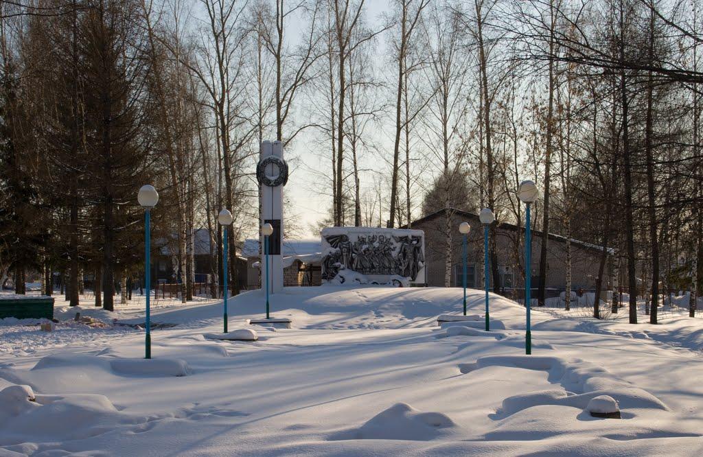Памятник ВОВ в с.Кумёны, Кумены