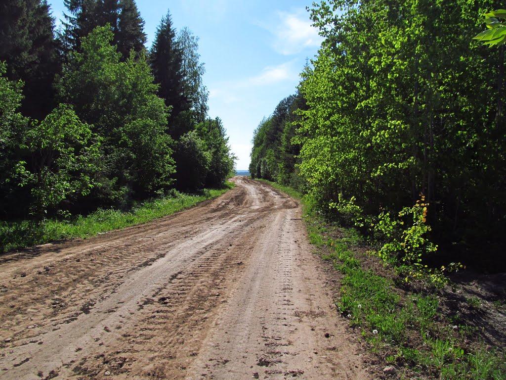 Дорога по вершине холма, Нововятск