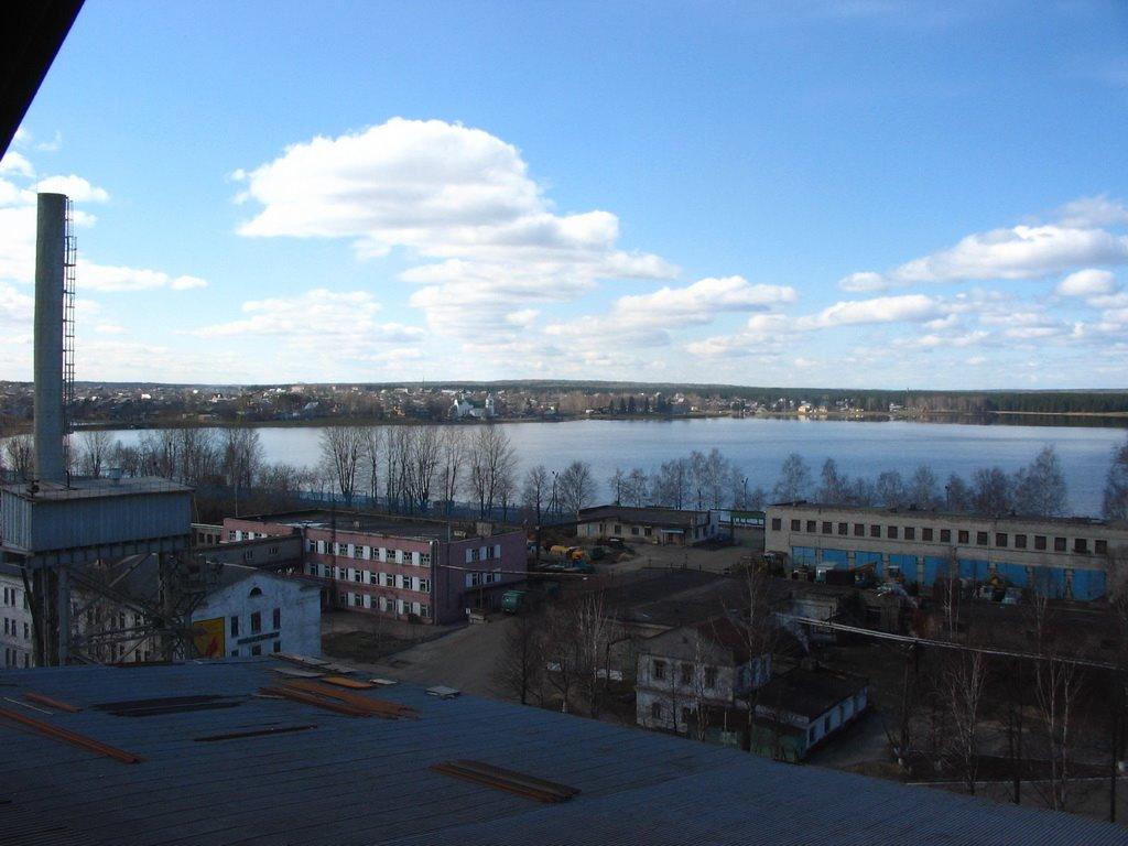 Пруд на р.Омутной, Омутнинск