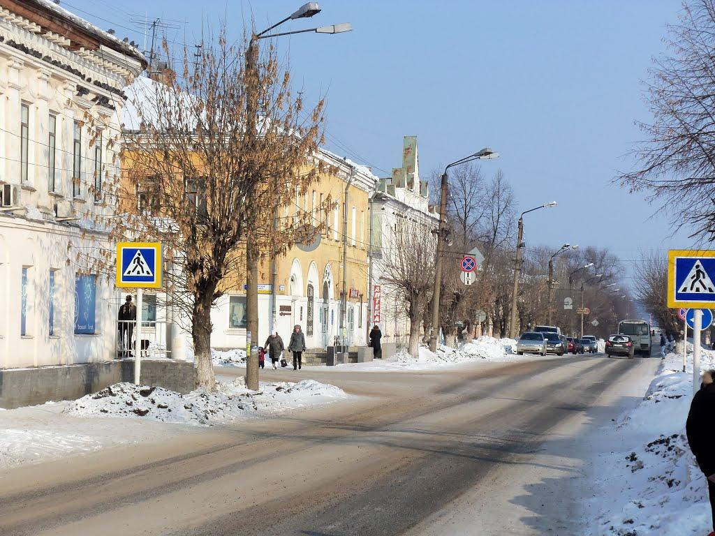Слободской, центр, ул.Советская, Слободской