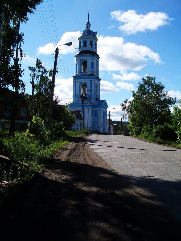 Кировская обл., п.Суна, церковь, Суна