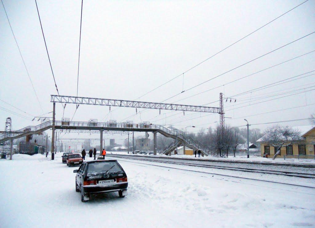Станция Фаленки в западном направлении, Фаленки