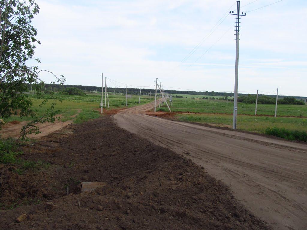 Дорога в будущий КП. Пока пусто., Халтурин