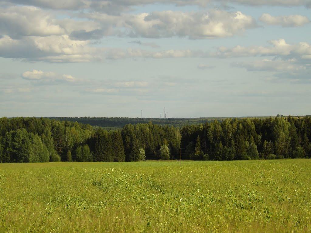 Трубы Кировской ТЭЦ-3, Халтурин