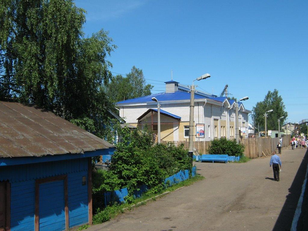 Строительство нового вокзала, Юрья