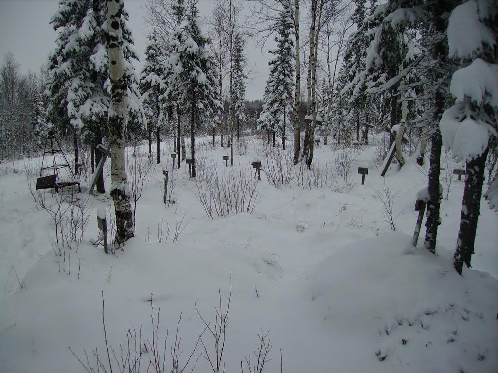 пос. Абезь, кладбище зк, 2007г., Абезь