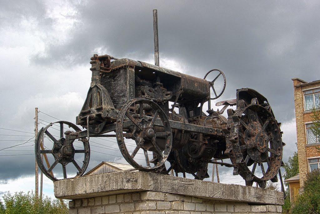 олдс-куул трактор | cool old-school tractor, Визинга