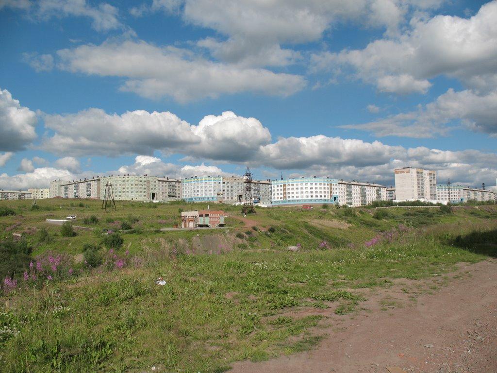 За оврагом Тиман (июль 2008), Воркута