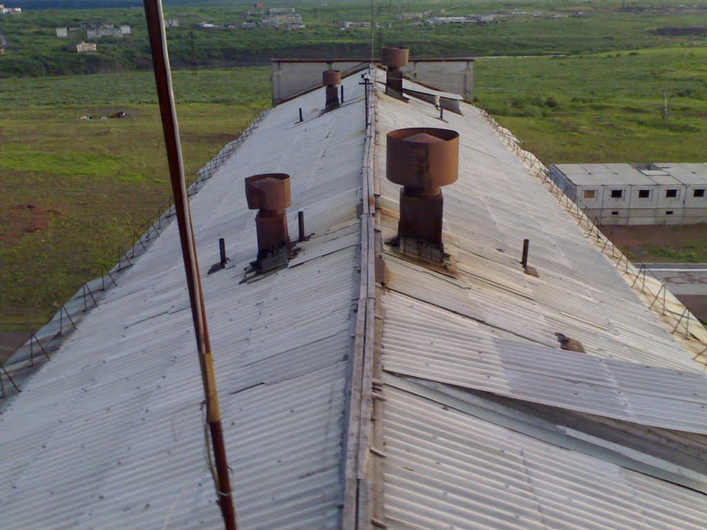 С крыши, Воркута