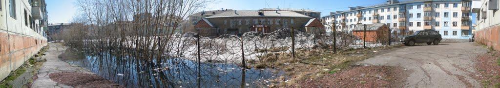 Вид на Севергазбанк, Воркута
