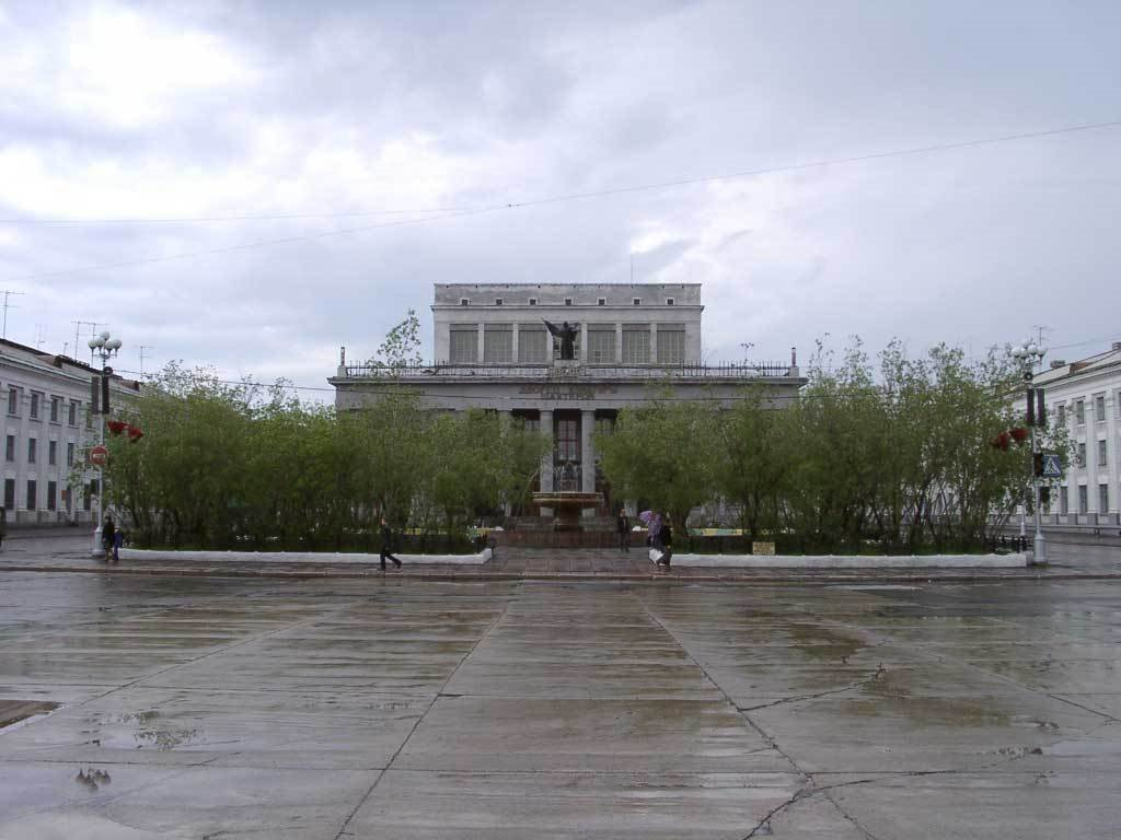 Воркута - дворец шахтера, Воркута