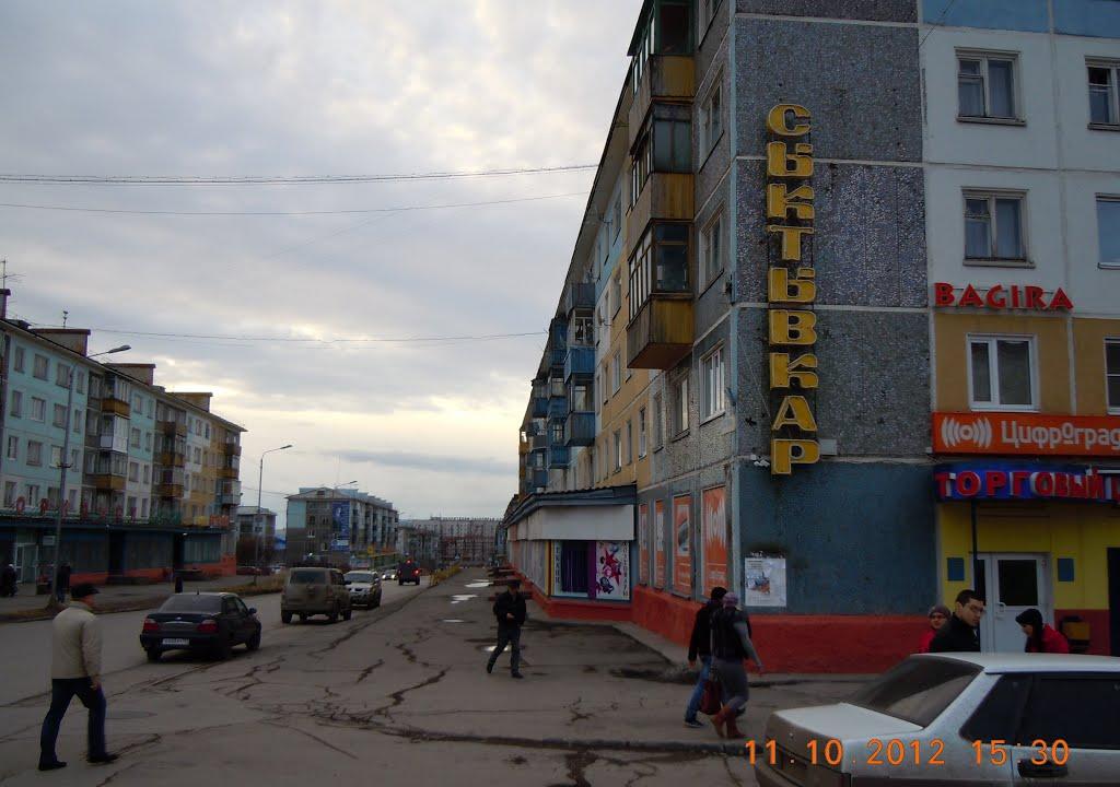 Вниз по ул. Гагарина, Воркута