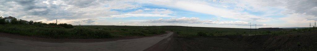 Дорога на Воркуту с Заполярного, Заполярный