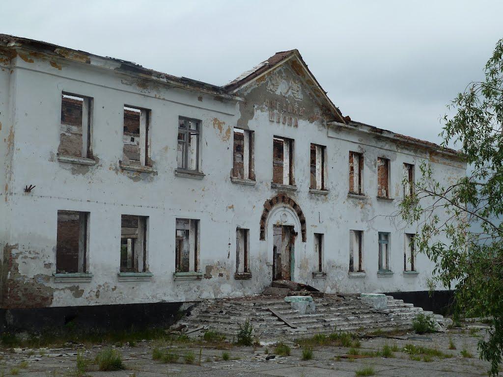 Воркута, Заполярный, школа №18, Заполярный