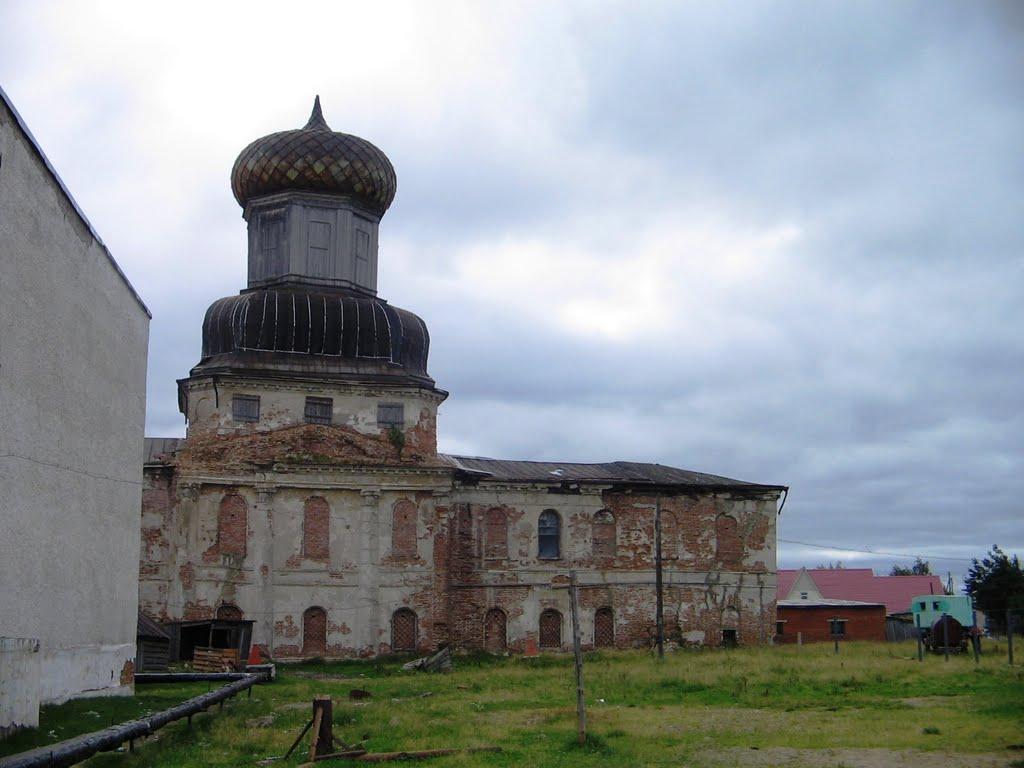 Преображенская церковь 1806 г., Ижма