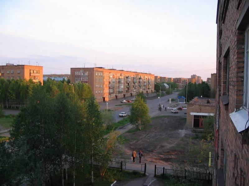 Вид с балкона дяди Вовы :-), Инта