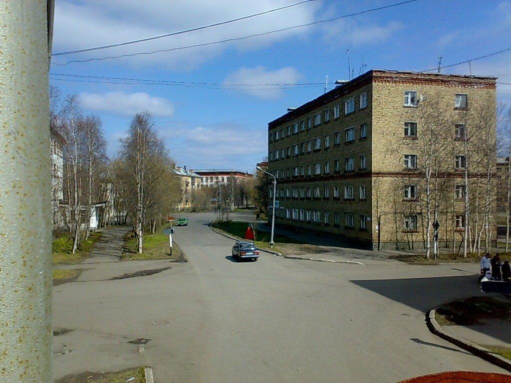 перекрёсток ул.Мира ул.Бабушкина, Инта