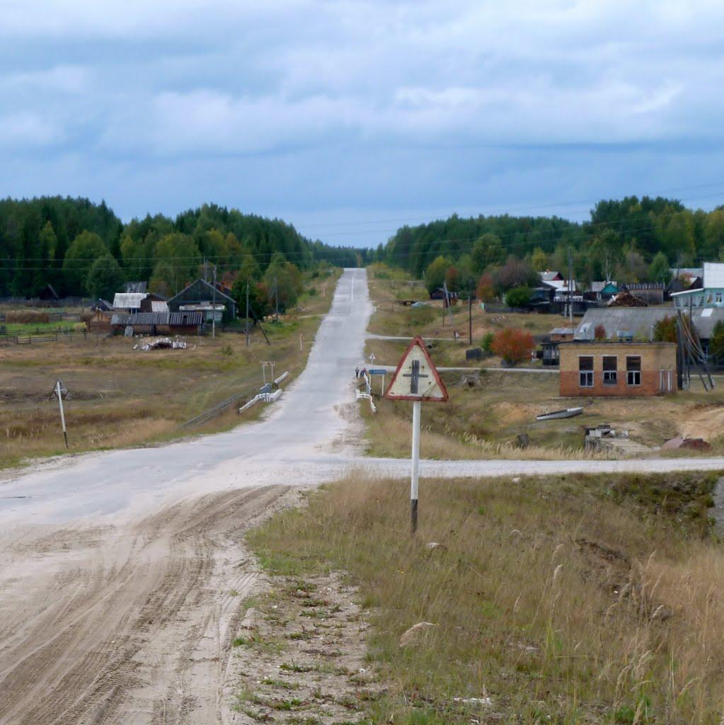 Село  Кажим. Койгородский район, Республика Коми, Кажым