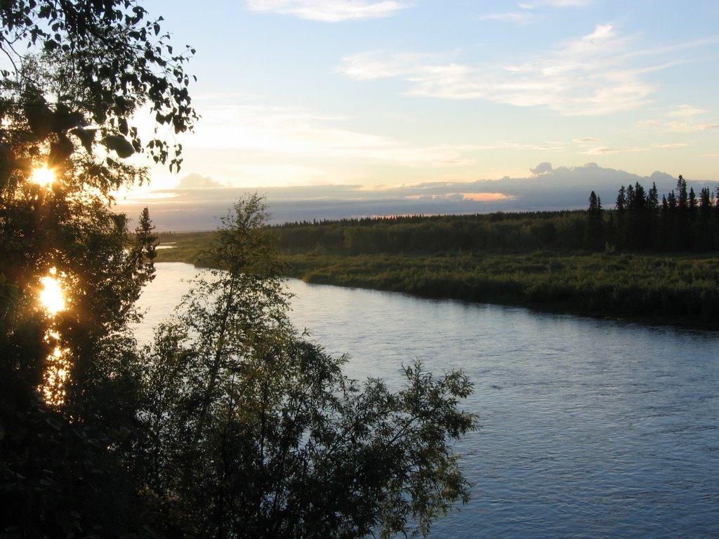 Kozhim river, Кожым