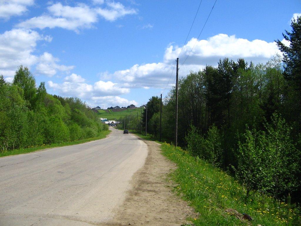 Дорога из п.Койдин в с.Койгородок, Койгородок