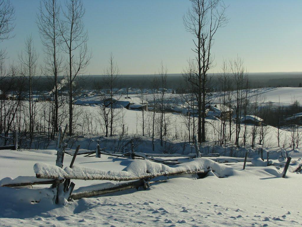 Вид с горы, Кослан