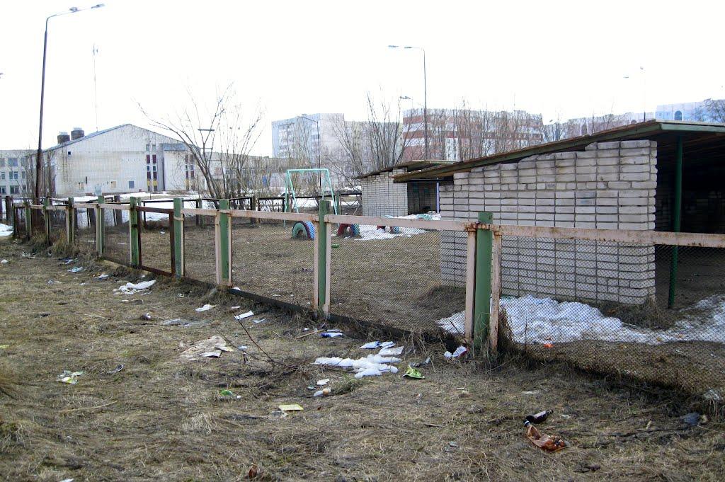 Весна обнажила весь подснежный мусор, Печора