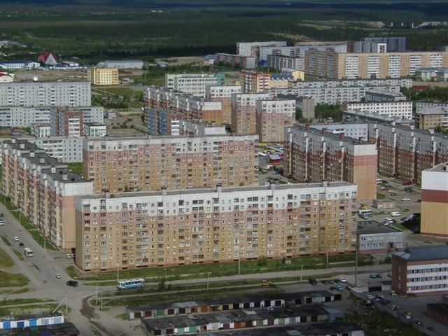 ул.Комсомольская, Усинск
